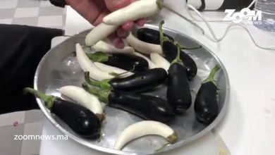 صورة مطبخ زووم.. وصفة دنجال مخلل بنينة بزاف مع أنواع كثيرة من فلافل