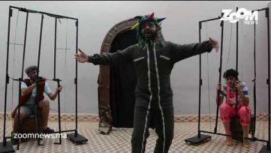 """صورة في عز كورونا …..مسرحيون بوجدة يبدعون في مسرحية تحت عنوان """"الأمير بغداد"""" كورونا"""