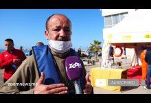 صورة معهد التكنولوجيا الصيد البحري بطانطان يطلق حملة تحسيسية بضرورة إرتداء صدرية النجاة.