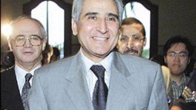 صورة وفاة الوزير والسفير السابق عبد الواحد بلقزيز