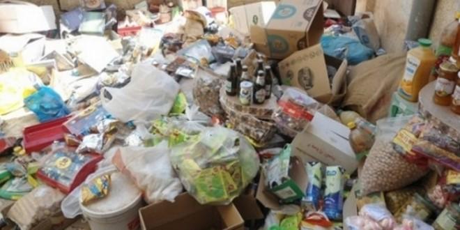 صورة الداخلة.. حجز وإتلاف 372 كلغ من المواد الغذائية غير الصالحة للاستهلاك
