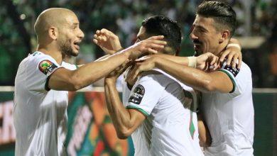 """صورة كان 2019. الجزائر تفوز على نيجيريا لتتأهل للدور النهائي بفضل هدف """"محرز"""""""
