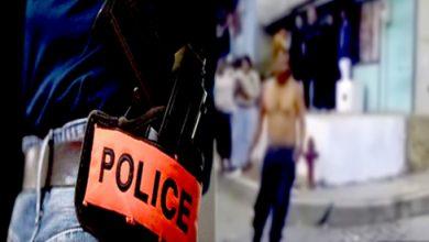 صورة الرباط .. شرطي يضطر لاستخدام سلاحه الوظيفي لتوقيف شخص عرض المواطنين وعناصر الأمن لاعتداء خطير