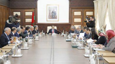 صورة انعقاد مجلس الحكومة الخميس المقبل سيتدارس فيه عدة مشاريع