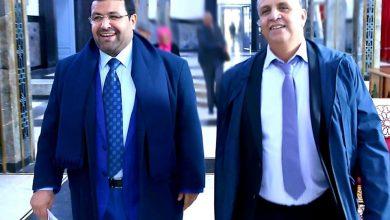 صورة أبو درار يدعم وهبي للأمانة العامة للبام