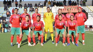 صورة المنتخب الوطني لكرة القدم النسوية يواجه نظيره الإسباني وديا