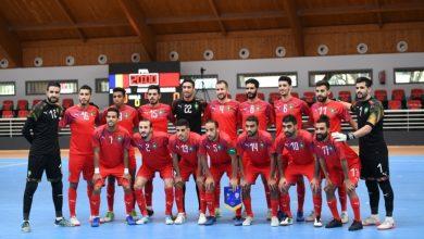 صورة المنتخب الوطني لكرة القدم داخل القاعة مرشح للفوز بأفضل منتخب عالمي