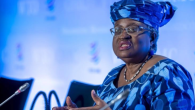صورة تعيين أول إمرأة من القارة الإفريقية في منصب المديرة العامة لمنظمة التجارة العالمية