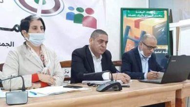 صورة حنان رحاب رئيسة جمعية أعمال الإجتماعية للصحافيين