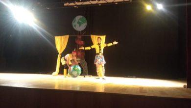 صورة مسرح أونامير يعرض مسرحية واقعة المزامير بقاعة ابراهيم الراضي باكادير