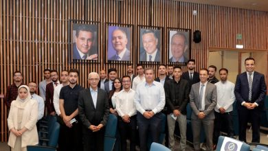 صورة أخنوش يعقد اجتماعاً مع الفيدرالية الوطنية لمنظمة الطلبة التجمعيين