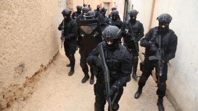 """صورة تفكيك خلية إرهابية موالية لما يسمى بتنظيم """"داعش"""" تنشط بالجماعة القروية سيدي الزوين"""