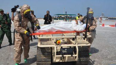 """صورة """"الأسد الإفريقي 2021"""".. عملية تطهير بالميناء العسكري لأكادير لتقييم تفاعلية وحدة الإنقاذ والإغاثة التابعة للقوات المسلحة الملكية"""