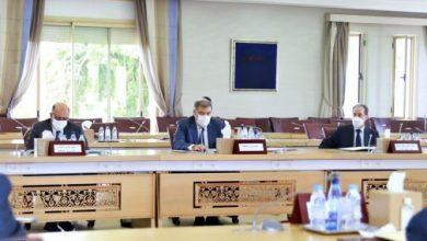 صورة الاجتماع الأول المتعلق بتفعيل اللجنة المركزية واللجان الإقليمية والجهوية المكلفة بتتبع الانتخابات