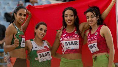 صورة توهج مغربي بالبطولة العربية لألعاب القوى