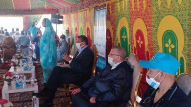 """صورة كلميم.. عزيز أخنوش يعقد لقاء مع وكلاء ومرشحي حزب """"الحمامة"""" بالإقليم"""