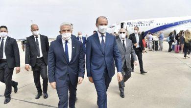 صورة وصول وزير الخارجية الإسرائيلي الى الرباط في أول زيارة رسمية له