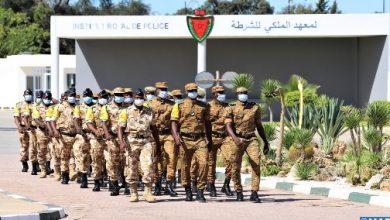 صورة اختتام دورة تكوينية نظمتها المديرية العامة للأمن الوطني لفائدة ضباط شرطة بوركينابيين