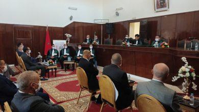 صورة كلميم.. تنصيب الأستاذ عادل حميدي رئيسا للمحكمة الابتدائية