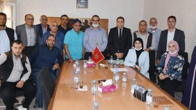 صورة انتخاب عبد الحق العليكة رئيسا للجماعة الترابية الكردان