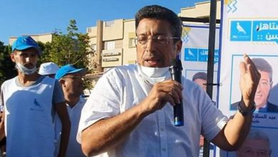 صورة انتخاب التجمعي عبد السلام البقالي رئيسا لمجلس جماعة فاس